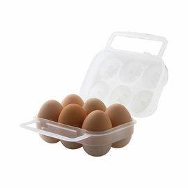 ~登山樂~ LOGOS 6粒蛋盒 六粒裝 攜帶式, 露營、戶外活動^#84701000 ~