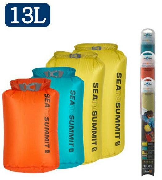 ├登山樂┤澳洲 Sea To Summit 15D 輕量防水收納袋 13L 藍、萊姆綠  # STSAUNDS13BL、STSAUNDS13LI