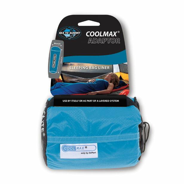 ├登山樂┤澳洲 Sea To Summit Coolmax Adaptor Liner 恆溫睡袋內套-藍色 # ACMAX