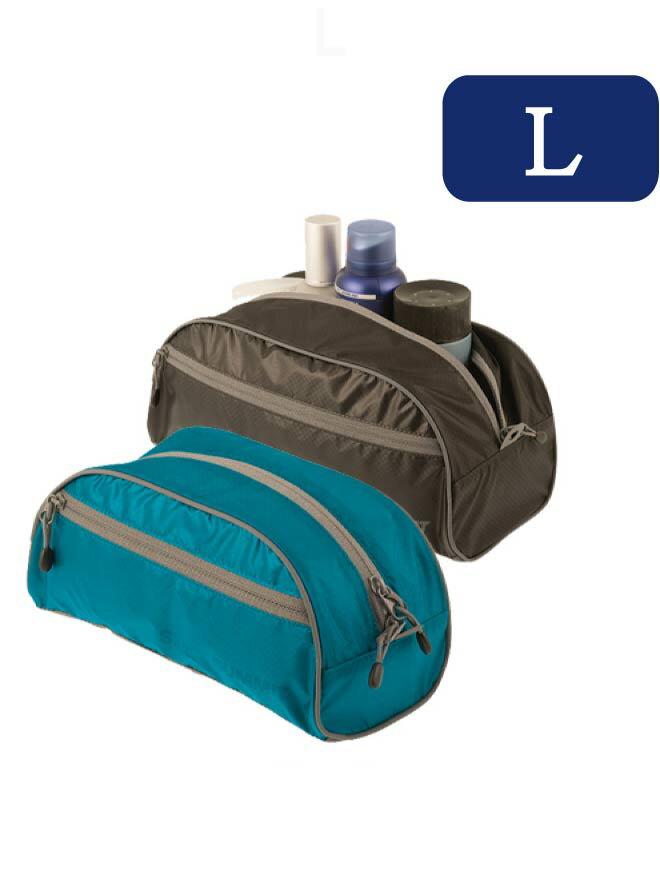 ├登山樂┤澳洲 Sea To Summit 旅行用盥洗袋-L 黑、藍 #STSATLTBLBK、STSATLTBLBL