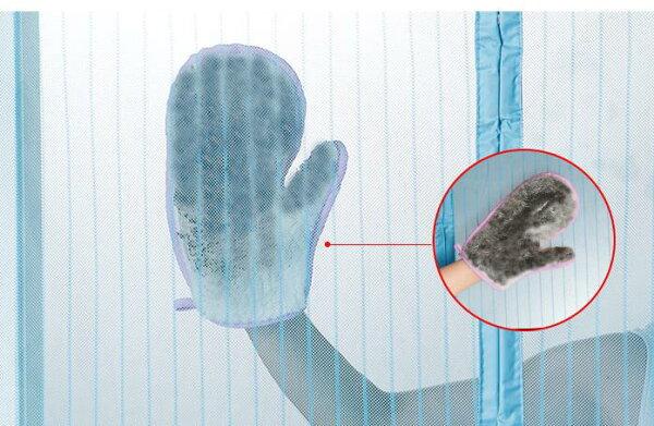 美麗大街【BF519E7E858E1】紗窗清潔布門簾吸水抹布擦家用紗網刷除塵手套清潔器巾
