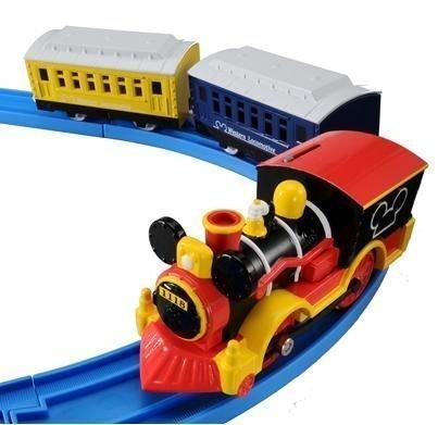 【真愛日本】14041800010 夢幻蒸氣機關車-米奇 米奇 迪士尼 軌道車 小車 玩具車 正品 限量