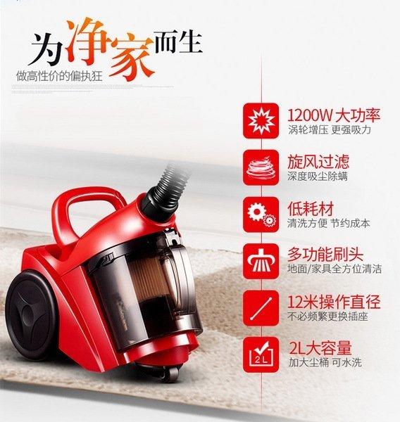 【台灣現貨】110V吸塵器 迷妳吸塵器小型手持吸塵器出口大功率強力小型地毯除蟎吸塵機塵蟎機【現貨免運】