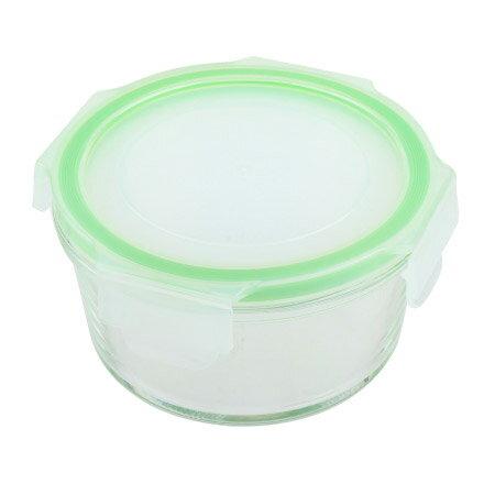 耐熱玻璃保鮮盒 370ml 圓形 NITORI宜得利家居