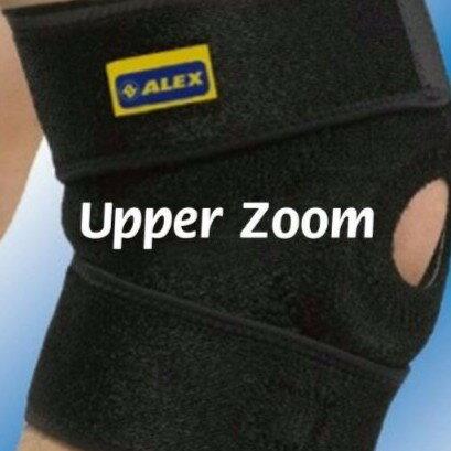 台灣製造 ALEX H-75竹炭調整式護膝(只) 另有 護膝 護腕 護肘 護踝 護腰