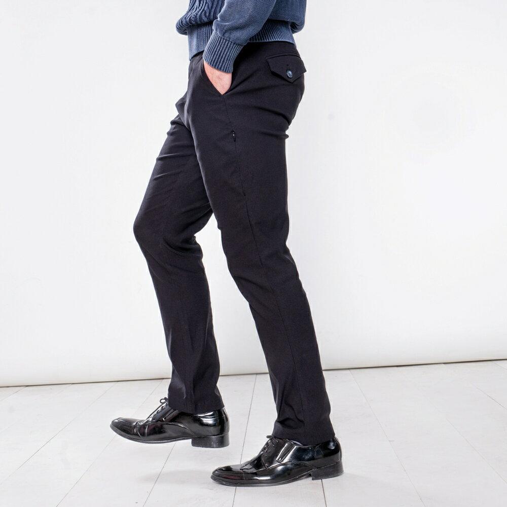 極致黑八口袋商旅紳士褲 MANHATTAN BLACK 8 POCKETS 0