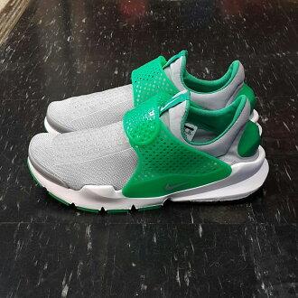 NIKE SOCK DART 灰色 綠色 灰綠 淺灰色 編織 襪套 襪子 沙大 慢跑鞋 8折優惠 819686-004