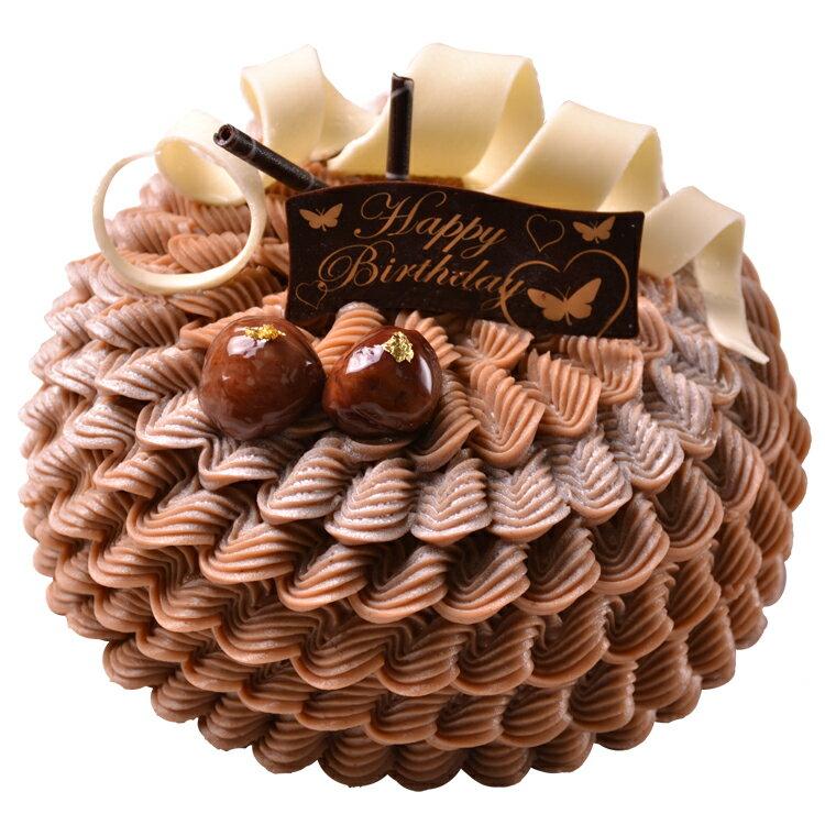 栗子蒙布朗 6吋~8吋可宅配生日蛋糕
