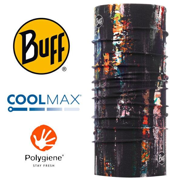 【Buff西班牙】魔術頭巾系列COOLMAX抗UV頭巾-冒險塗鴉/BF117018