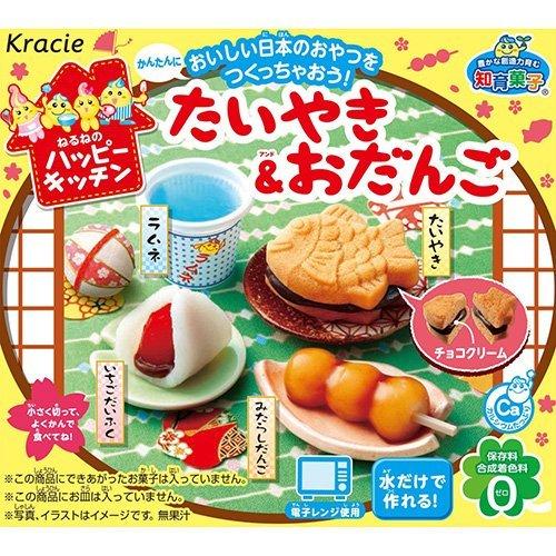 日本【Kracie】鯛魚包子-知育果子 popin cookin(賞味期限:2017.07)