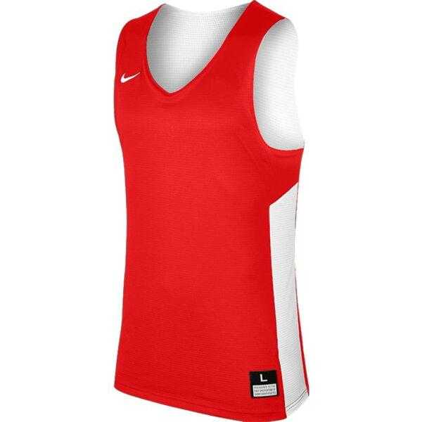 NikeTankReversible男裝上衣背心籃球雙面穿紅白【運動世界】867766-658