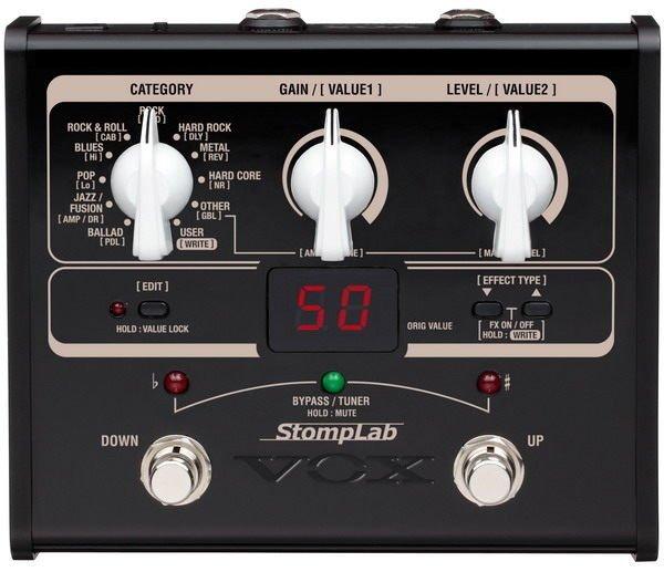 Vox StompLab IG 電吉他綜合效果器(日本製)【唐尼樂器】
