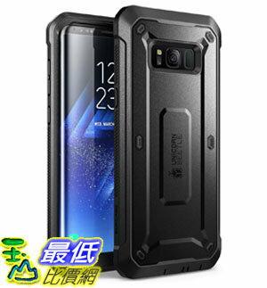 [107美國直購] 手機保護殼 Galaxy S8+ Plus Case, SUPCASE Full-body Rugged Holster Case with Built-in Screen Protector
