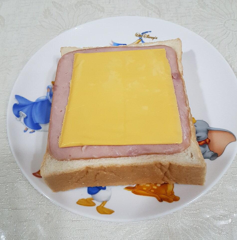 火腿起司厚片吐司 單片入125g 【輕鬆吃】