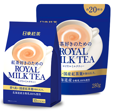 【橘町五丁目】緊急到貨! 日東紅茶 -濃厚皇家奶茶ROYAL MILK TEA▶全館滿499免運