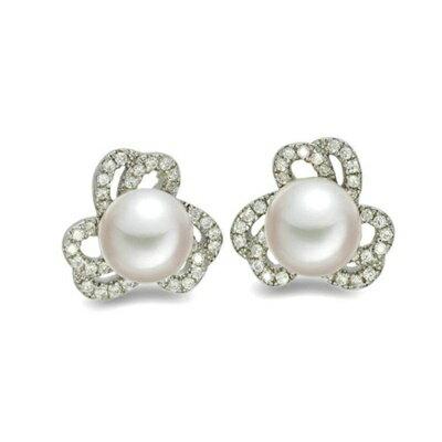 925純銀耳環鑲鑽耳飾~典雅 氣質百搭母親節生日情人節 女飾品73dm217~ ~~米蘭