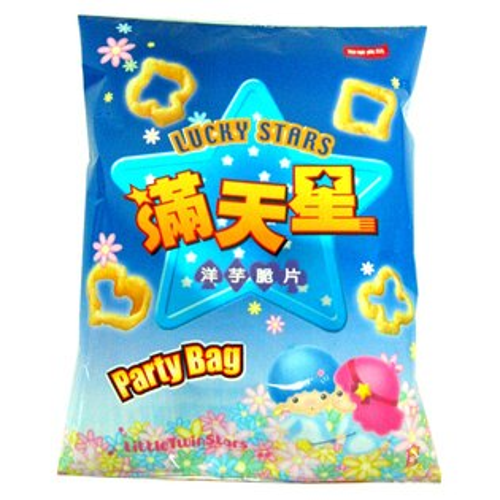 聯華滿天星洋芋脆片超大包90g【愛買】