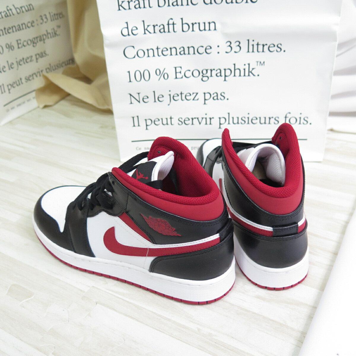 【滿額領券折$150】NIKE AIR JORDAN 1 MID(GS) 大童 童鞋 籃球鞋 DJ4695122 黑/紅【iSport愛運動】