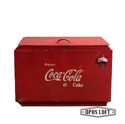 街頭工業風復古可口可樂保冷箱