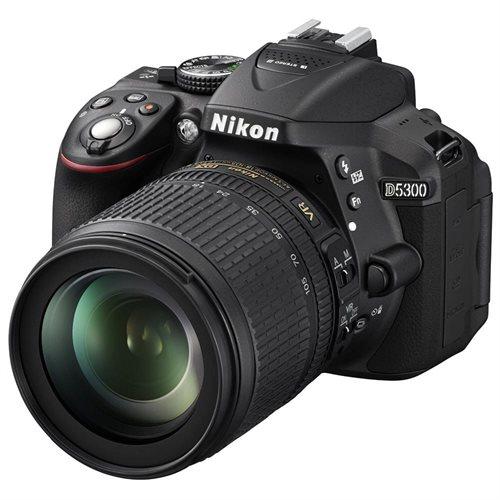 Nikon D5300 DSLR Camera with 18-105mm (Black) 0