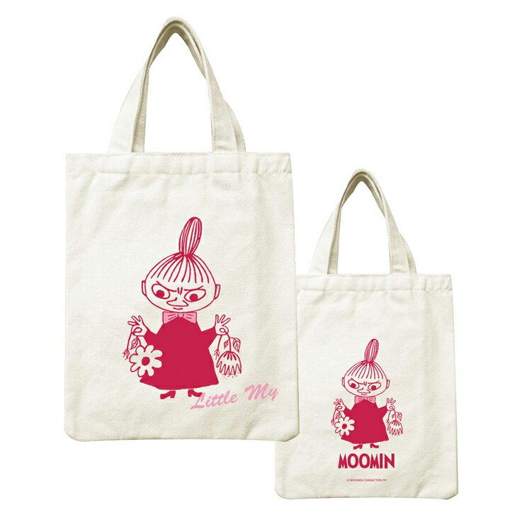 Moomin嚕嚕米正版授權 - 帆布包:【 Little My 】