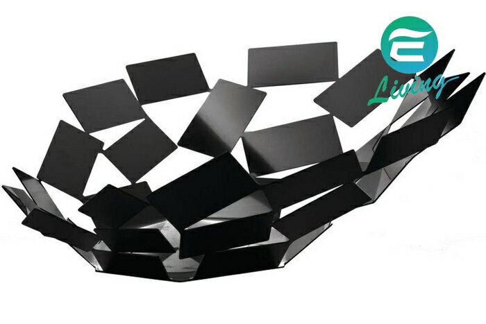 ALESSI 幾何水果籃(黑) STANZA DELLO SCIROCCO BOWL #MT01 B