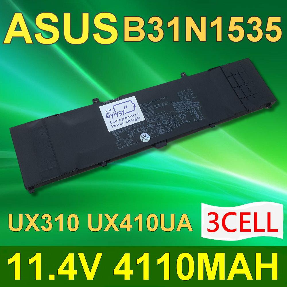 ASUS B31N1535 3芯 日系電芯 電池 Zenbook UX310 UX310UA UX310UQ UX410UA UX410UQ 0B200-02020000 0B20002020000 ..