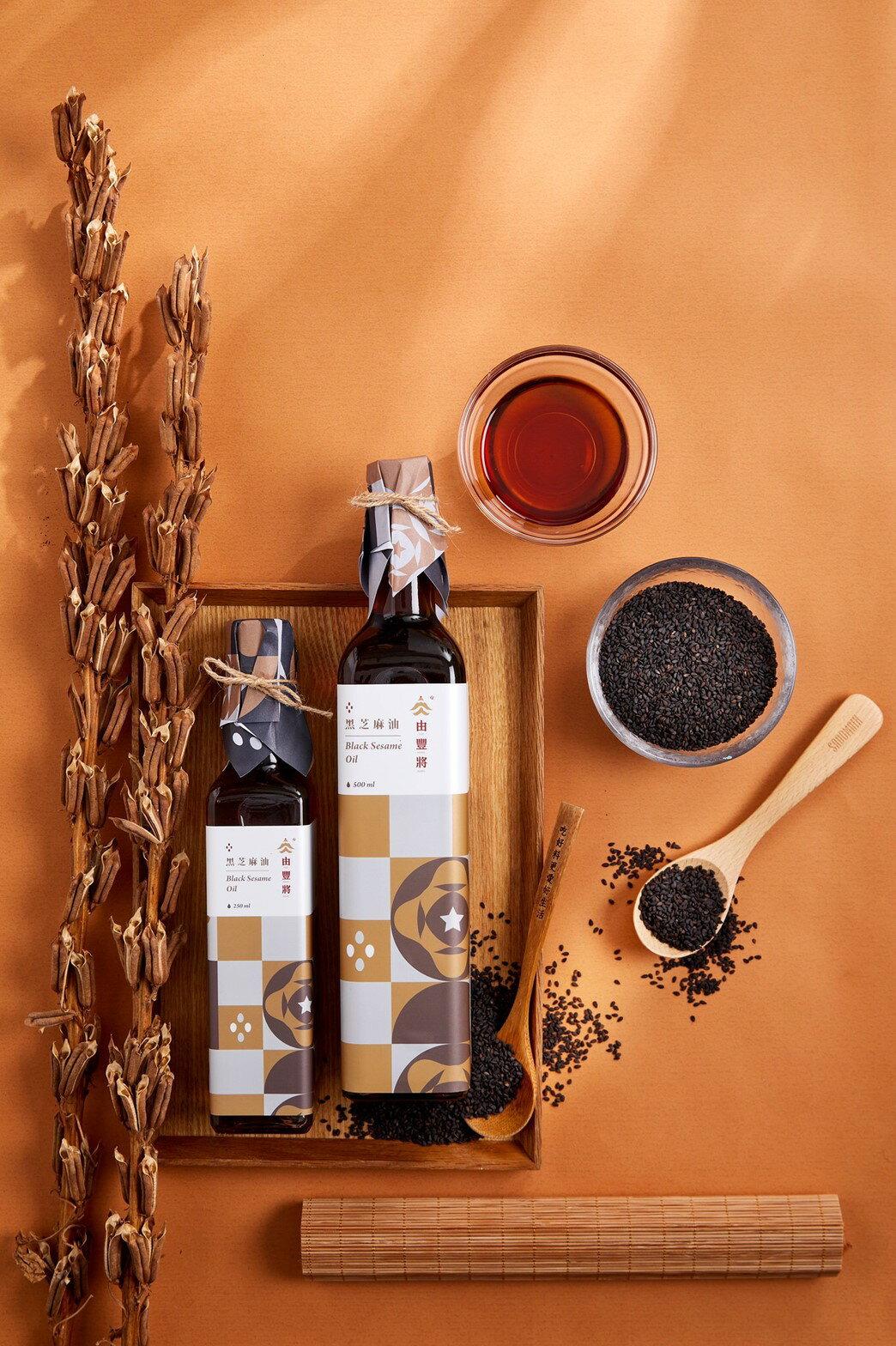 【由豐將】月子專區 黑芝麻油(大)*8+苦茶油(大)*2 額外贈送醬品(任選)