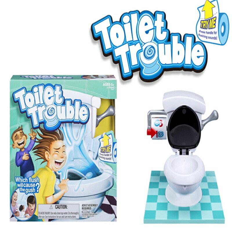 Toilet Trouble 馬桶整人 瘋狂馬桶 遊戲馬桶 廁所基地 馬桶玩具 馬桶噴水 桌游【RS636】