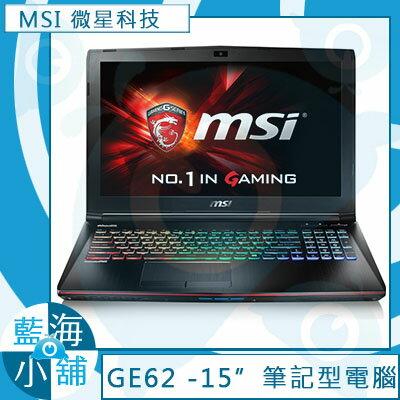 MSI微星GE62 6QE(Apache Pro)-252TW Core i7-6700HQ∥GTX965M獨顯2G 最新DDR4記憶體 筆記型電腦