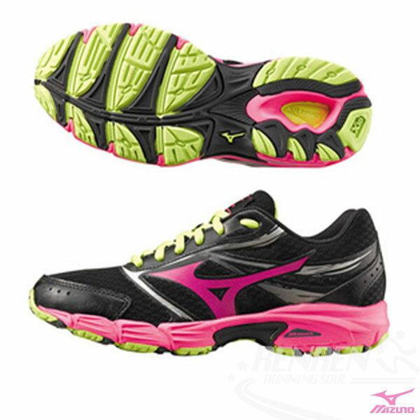 MIZUNO 美津濃 頂級女鞋款 EMPOWER 2 (W) (黑*桃紅)