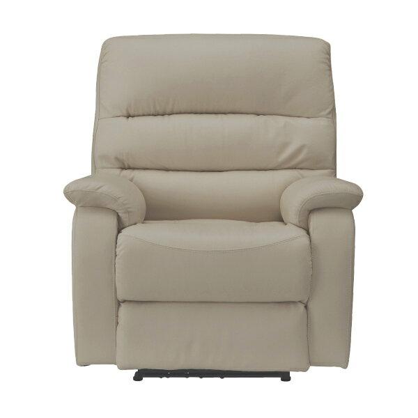 ◎(OUTLET)全皮1人用頂級電動可躺式沙發 BELIEVER MO 福利品 NITORI宜得利家居 2