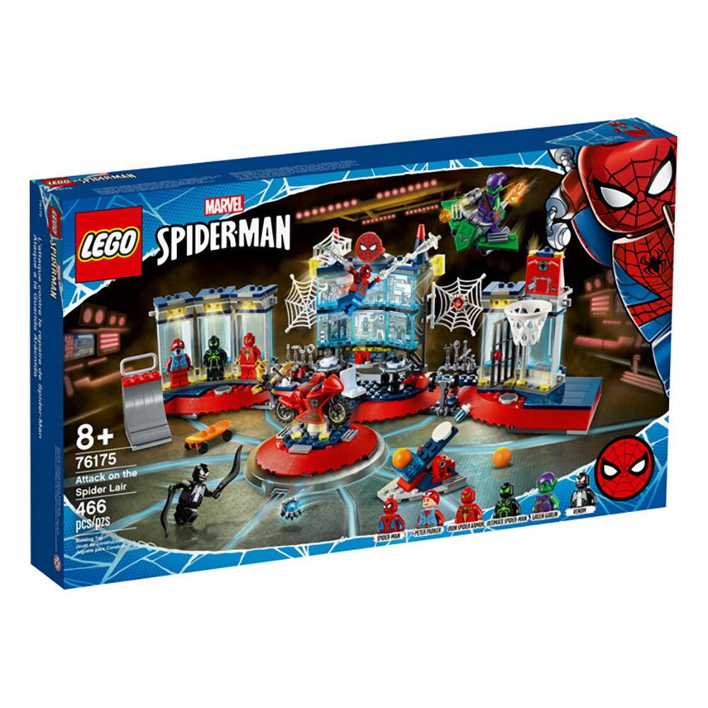 樂高LEGO 76175 SUPER HEROES 超級英雄系列 Attack on the Spider Lair