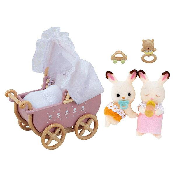 森林家族可可兔雙胞胎家具組【鯊玩具ToyShark】
