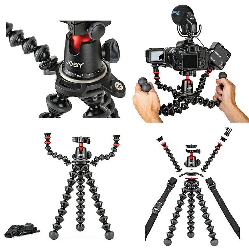 ◎相機專家◎ JOBY GorillaPod Rig 金剛爪拍片神器 JB58 相機 補光燈 熱靴 麥克風 錄音錄影 章魚腳 公司貨