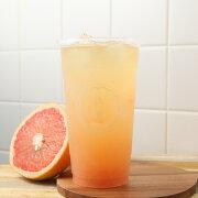 【汝菓】葡萄柚青茶 L (冷) 700 c.c.