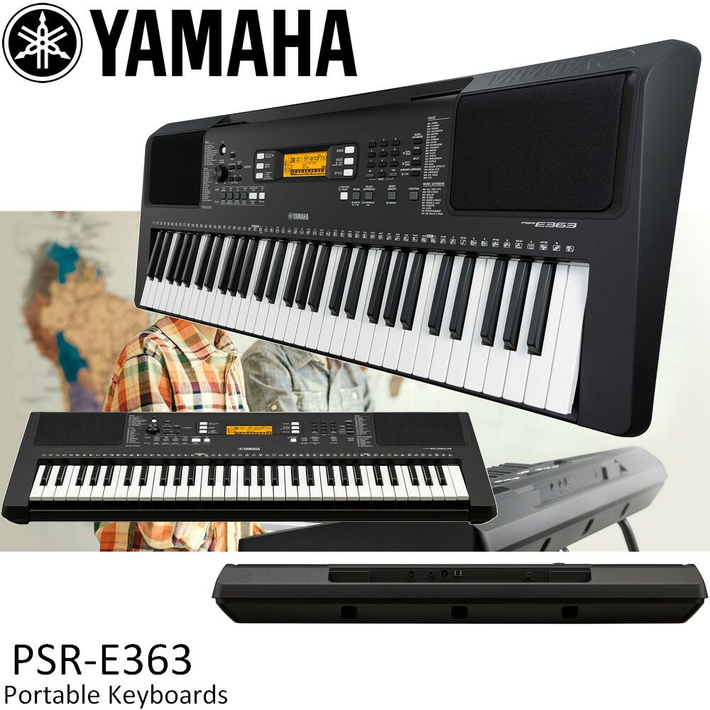 yamaha psr e363 61. Black Bedroom Furniture Sets. Home Design Ideas