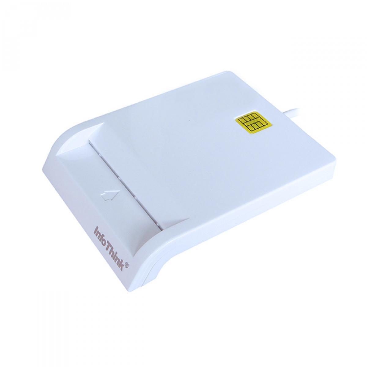 InfoThink IT-500U 多功能晶片讀卡機/ ICASH 自然人憑證