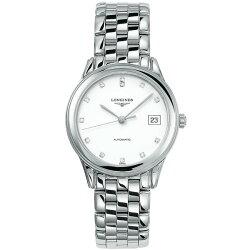 LONGINES 浪琴表 L47744276 旗艦系列 珍鑽經典腕錶/白面35.6mm