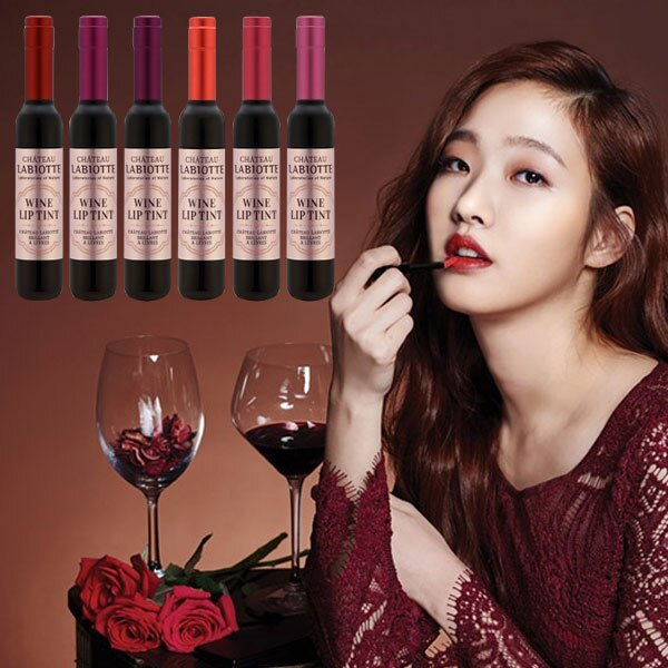 韓國 LABIOTTE 葡萄酒醇果染色唇露 3g 《Belle倍莉小舖》