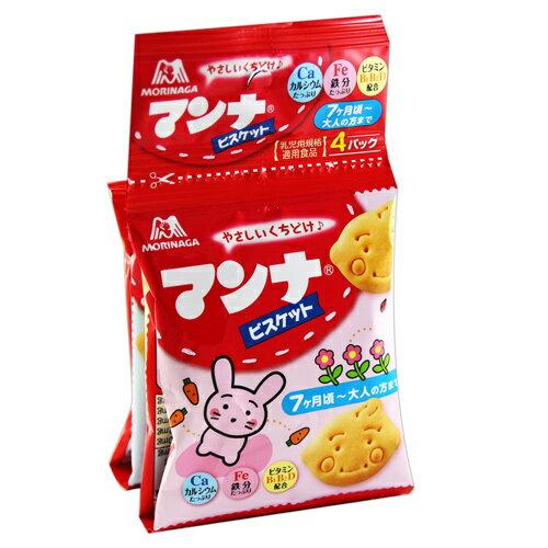 [即期良品]Morinaga森永幼兒造型餅乾4連包(52g) *賞味期限:2017/02/28*
