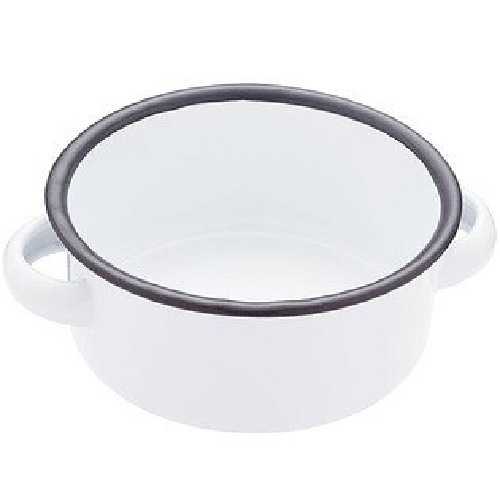 《KitchenCraft》復古琺瑯雙耳濃湯碗(11cm)