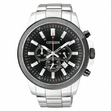 CITIZEN 運動三眼計時腕錶 AN8081-57E