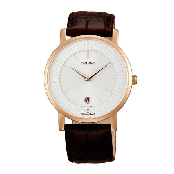 Orient 東方錶(FGW0100CW)極簡超薄時尚腕錶/白面38mm