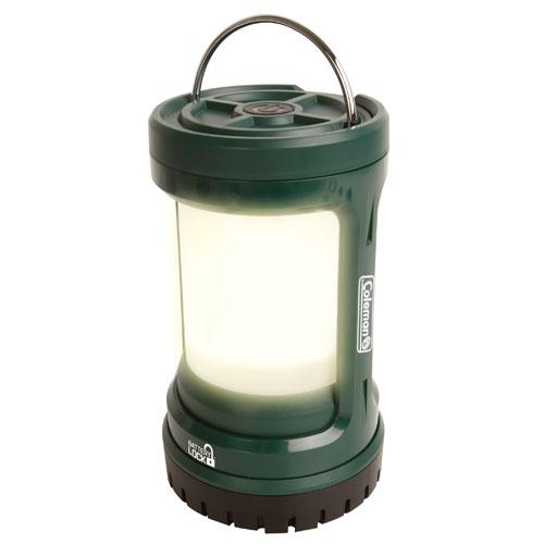 【露營趣】中和 附手電筒 Coleman BATTERYLOCK PUSH 暖黃光營燈 LED露營燈 300流明 CM-27297