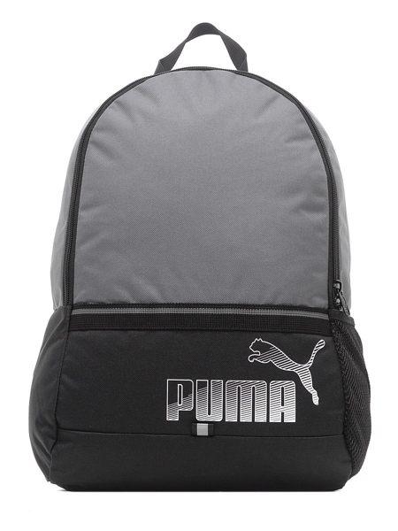 PUMA Phase 後背包 雙肩 休閒 灰 黑~ 世界~07441301