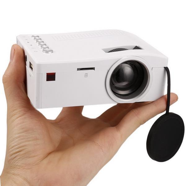 Micro Mini LED LCD Projector Portable Home Cinema Theater Multimedia 3
