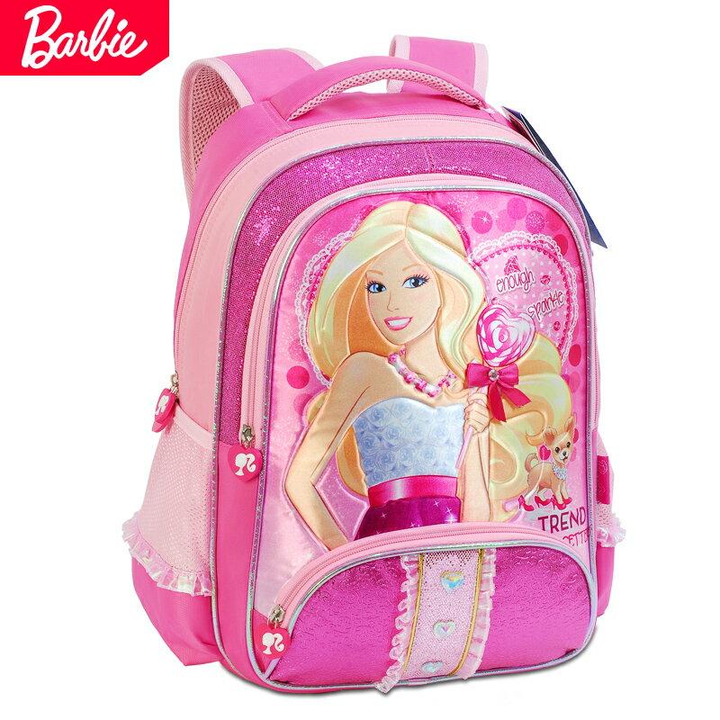 Disney 迪士尼 芭比 兒童書包 後背包小學生書包 小女生最愛 BB0012