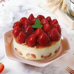 艾波索【草莓華爾滋蛋糕6吋】超人氣新品,草莓滿滿好療育~限定門市自取