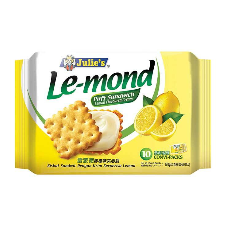 茱蒂絲雷蒙德檸檬味夾心餅-170g